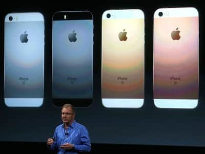 Apple revela o seu iPhone SE