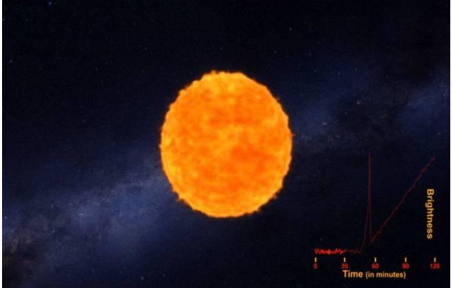 Pela primeira vez, Nasa registra explosão de estrela