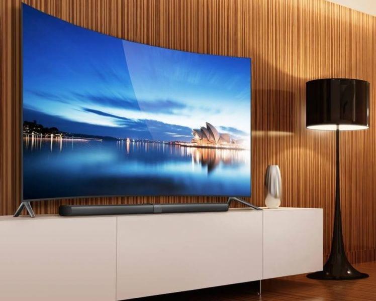 Enfim,  Xiaomi revela a sua TV de tela curva de 65 polegadas.