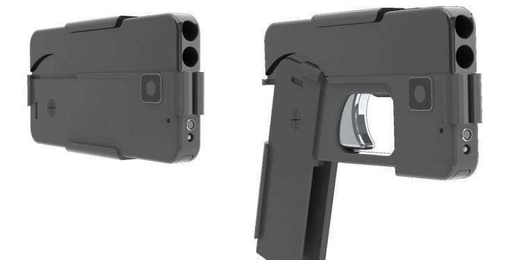 Arma de fogo com formato de smartphone será comercializada nos EUA