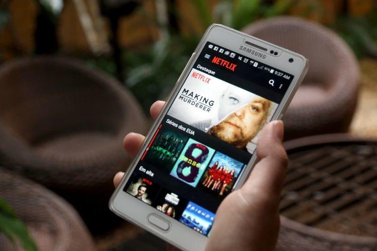 Netflix testa recurso que economizará dados móveis