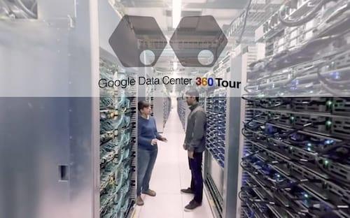 Que tal um passeio em 360º pelo Data Center do Google?
