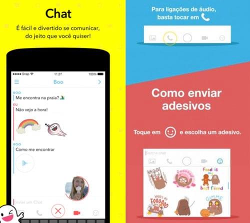 Nova versão do Snapchat ganha vídeo GIF, áudio e stickers