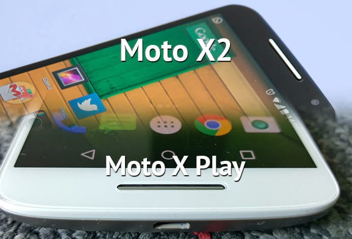Comparativo: Moto X/2 vs. Moto X Play