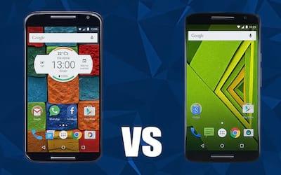 Comparativo: Moto X/2 vs. Moto X Play