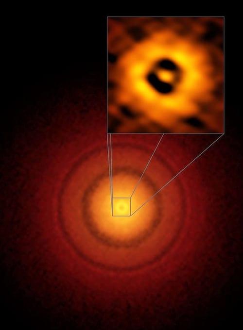 Telescópio encontra imagem de versão inicial da Terra