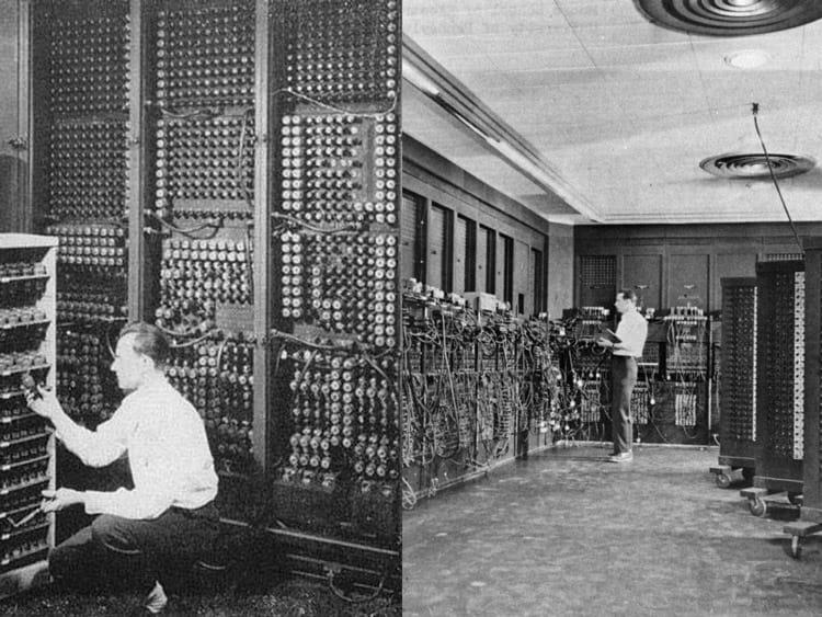 Primeiro computador digital media uma área de 270 metros quadrados
