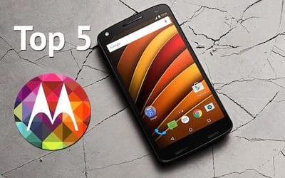 Os 5 melhores smartphones da Motorola