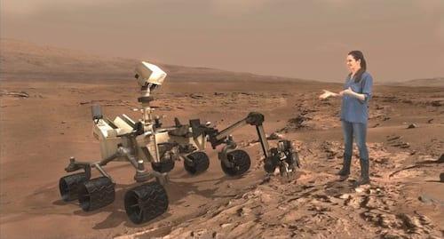 NASA e Microsoft usarão realidade virtual para exibir Marte