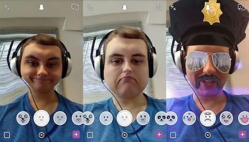 Como aplicar filtros animados no Snapchat?