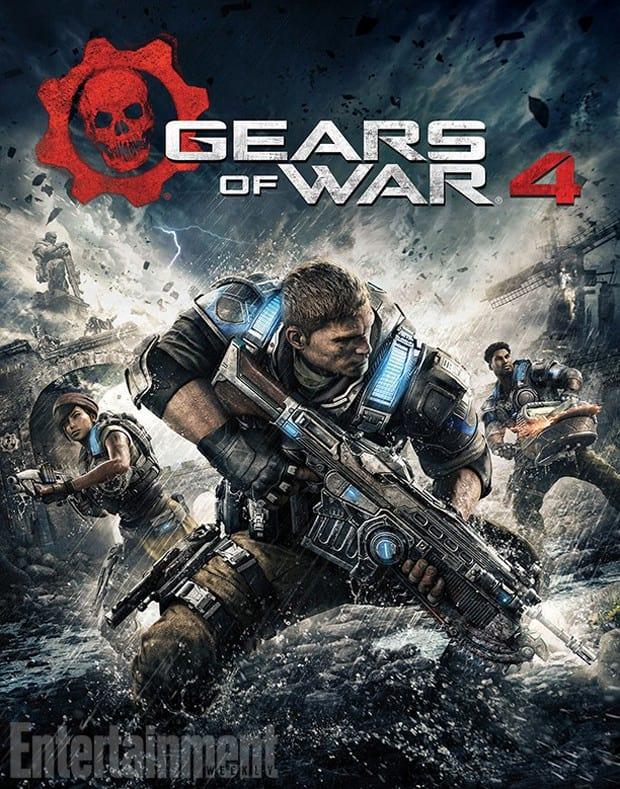 Capa do novo Gears of War 4.