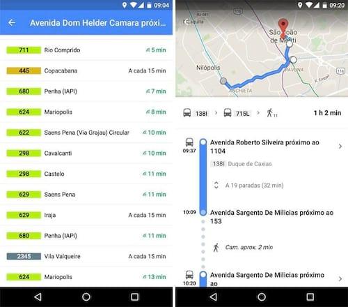 Ônibus do Rio de Janeiro podem ser acompanhados através do Google Maps