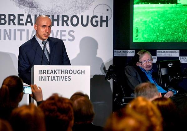 Stephen Hawking e Yuri Milner planejam missão interestelar