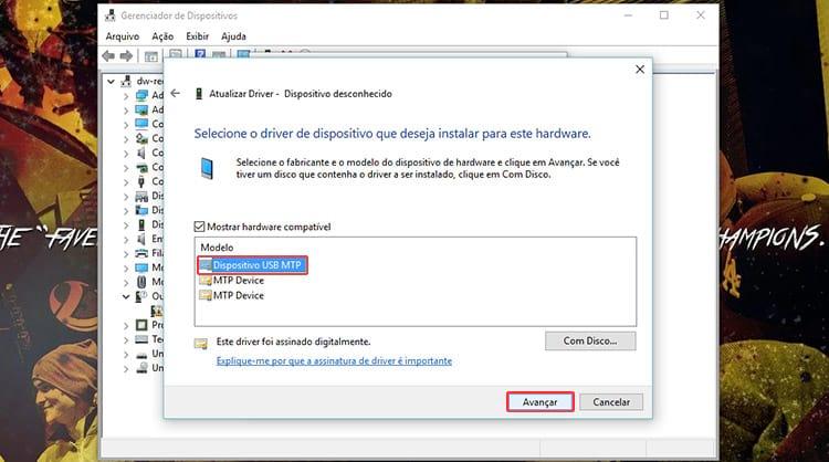Windows não reconhece smartphone, como resolver?