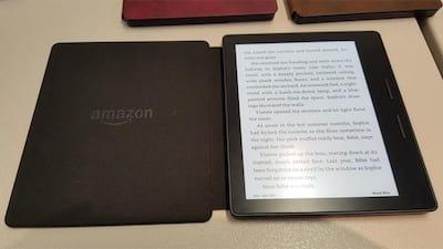 Amazon apresenta Kindle Oasis mais fino e leve