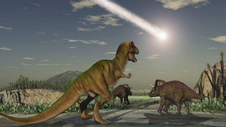 Queda de meteorito pode não ter sido a causa principal do fim dos dinossauros