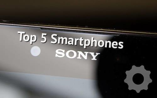 5 melhores smartphones da Sony