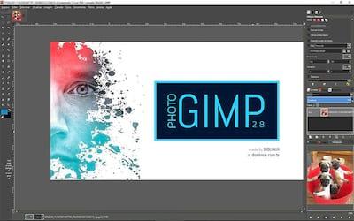 Que tal usar o GIMP com visual do Photoshop? Conhe�a o PhotoGIMP