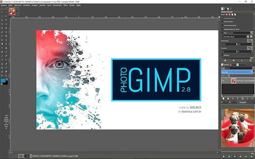 Que tal usar o GIMP com visual do Photoshop? Conheça o PhotoGIMP