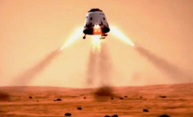 SpaceX pretende enviar módulo espacial para Marte em 2018