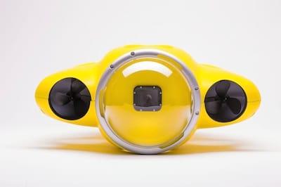 Drone aqu�tico � capaz de filmar em v�rios �ngulos