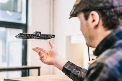 Conhe�a o drone que pode ser dobrado e guardado na mochila