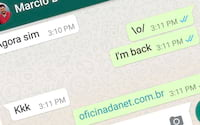 WhatsApp volta a funcionar no Brasil