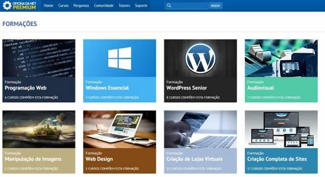 Forma��es - Uma novidade do Oficina da Net Premium