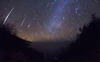 Chuva de meteoros poder� ser vista na pr�xima madrugada