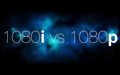 Qual � a diferen�a entre 1080p e 1080i?