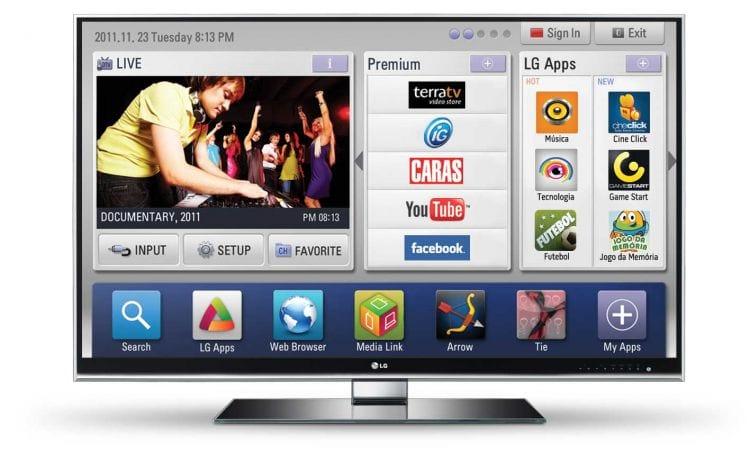 LG anuncia chegada da nova versão da plataforma Smart ao mercado