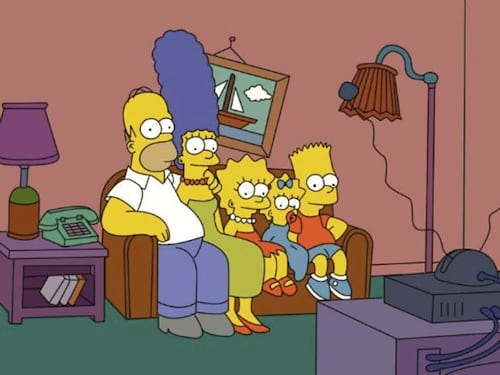 Os Simpsons, pela primeira vez, foi animado ao vivo na TV