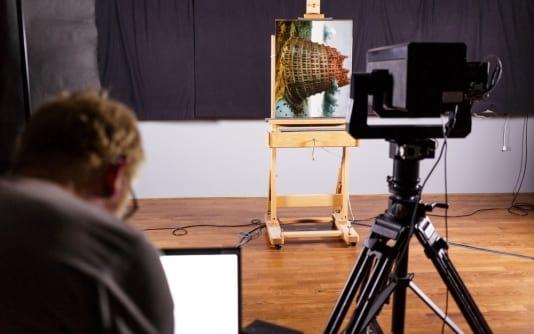 Câmera do Google é capaz de fotografar obras de artes nos mínimos detalhes.