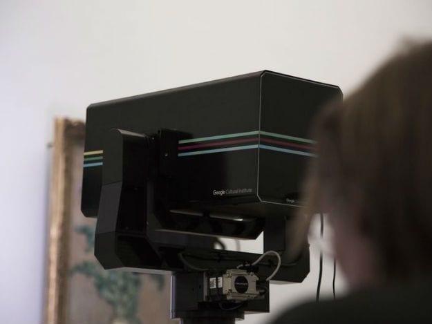 ArtCamera do Google irá registrar vários obras em museus do mundo todo e disponibilizar em um portal.
