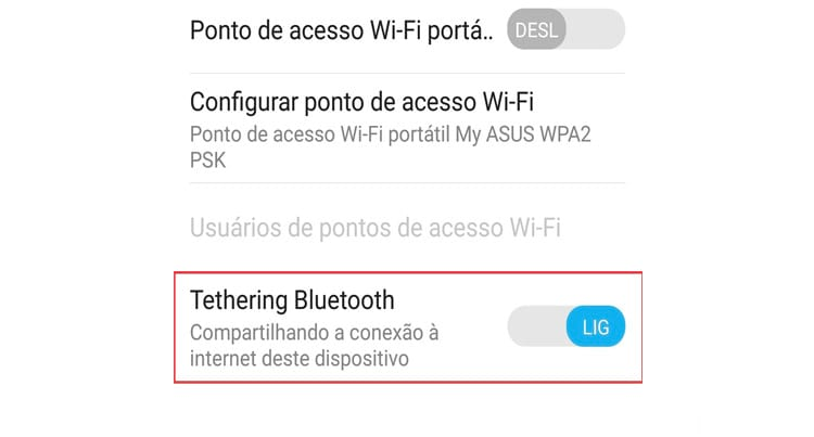 Como usar o Android como modem Wi-Fi?