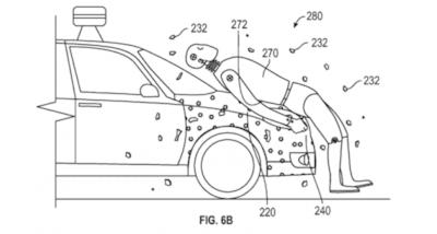 Google patenteia cola que gruda pedestre atropelado no cap�