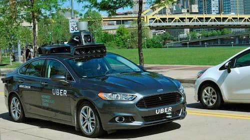 Uber inicia os testes de carros sem motorista nos EUA