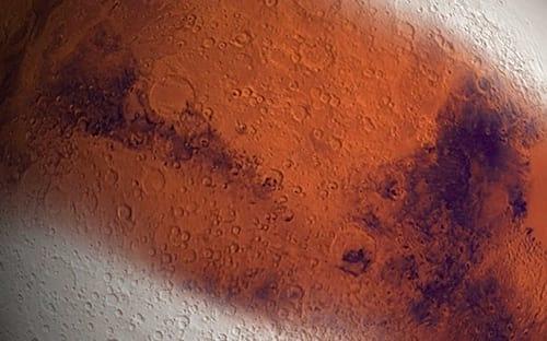 Marte está saindo de uma era glacial, aponta estudo