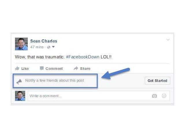 Facebook começa a testar novas notificações