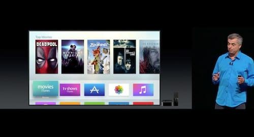 Apple TV ganha novos canais e tvOS será aprimorado