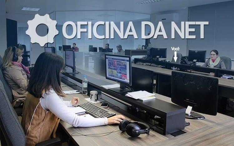 Que tal ser repórter por um dia do Oficina da Net?