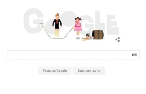 Google presta homenagem a El Chavo del Ocho através de seu Doodle