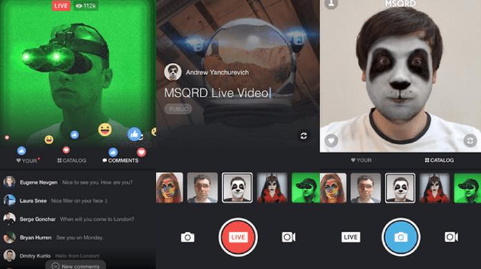 Facebook adiciona filtros nos vídeos do Live