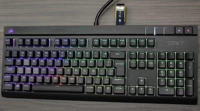 [V�deo]Review Corsair Strafe RGB, o melhor teclado mec�nico do Brasil?