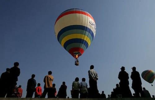 Uber irá oferecer transporte de balão na China