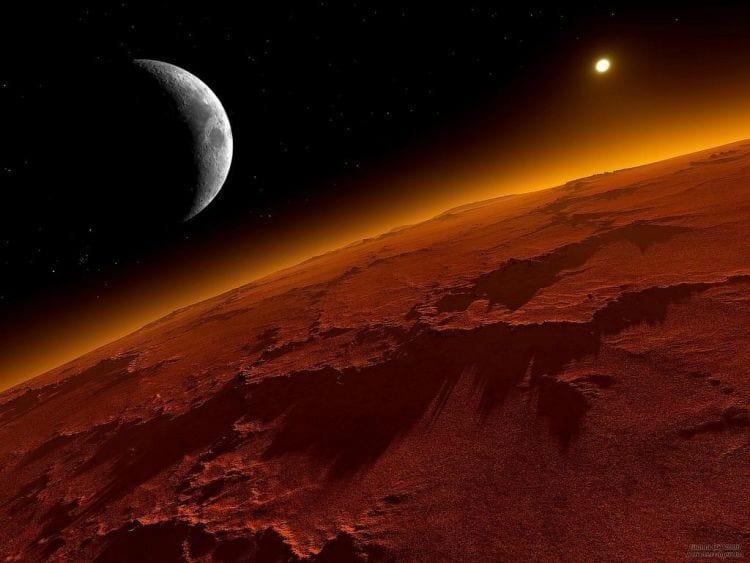 Marte pode ter abrigado vida há um bilhão de anos.