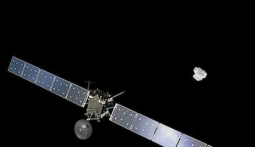 Sonda Rosetta encerra missão em setembro