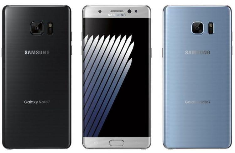 Samsung Galaxy Note 7 deverá chegar em três cores. Últimas imagens vazadas são mais confiáveis.