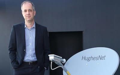 Entrevista exclusiva com presidente da Hughes Brasil aponta planos e perspectivas para o pa�s