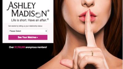 Site de relacionamentos extraconjugais est� sendo investigado nos EUA